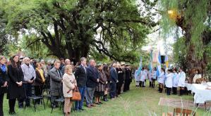 Homenaje a la Primera Sesión de la Legislatura Provincial