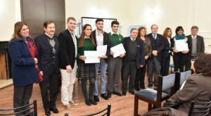Reconocimiento a alumnos becados por la United World Colleges (UWC Argentina)